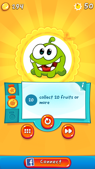 Cut the Rope HTML 5 Game